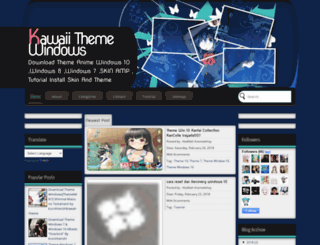 kawai-theme.blogspot.com screenshot