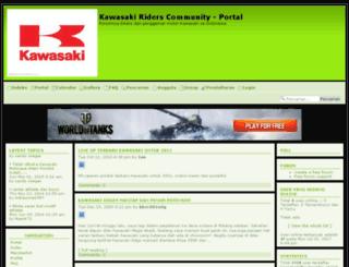 kawasaki.bigforumpro.com screenshot