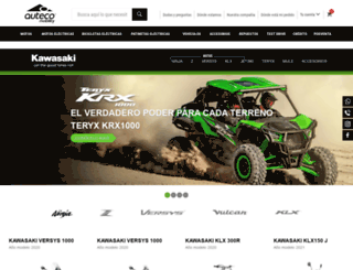 kawasaki.com.co screenshot