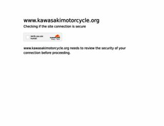 kawasakimotorcycle.org screenshot