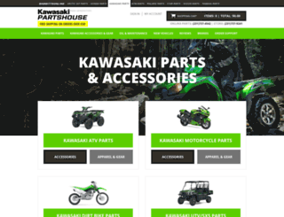kawasakipartshouse.net screenshot