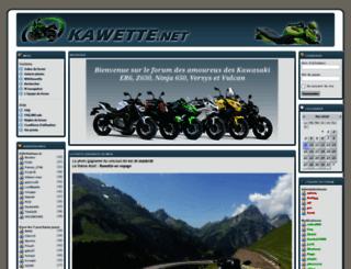 kawette.net screenshot