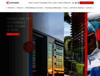 kawneer.com screenshot
