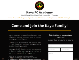 kayafcacademy.com screenshot