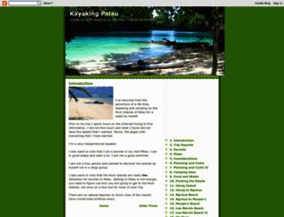 kayakingpalau.blogspot.com screenshot