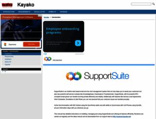 kayako.helpmax.net screenshot