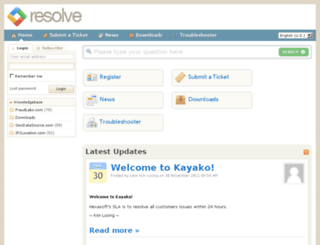 kayako.hexasoft.com.my screenshot