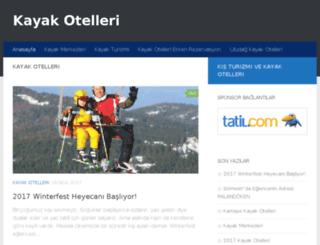 kayakotellerimiz.com screenshot