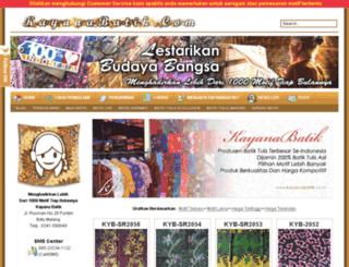 kayanabatik.co.id screenshot