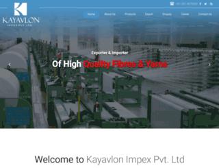kayavlon.com screenshot