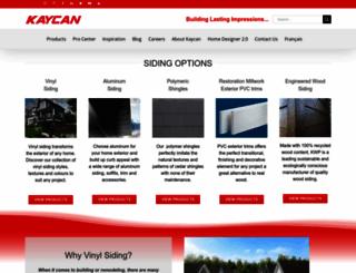 kaycan.com screenshot
