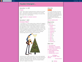 kaydeeknits.blogspot.hk screenshot