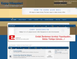kayiphikayeleri.com screenshot