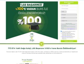 kayit.dogakoleji.com screenshot