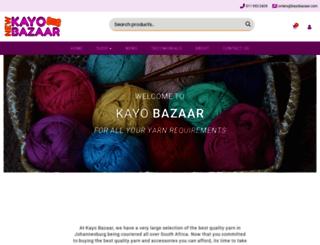 kayobazaar.com screenshot