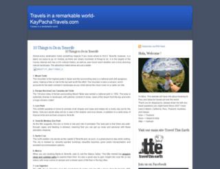 kaypachatravels.com screenshot
