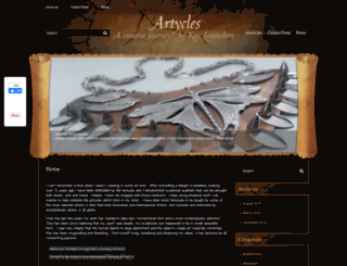 kaysartycles.com.au screenshot