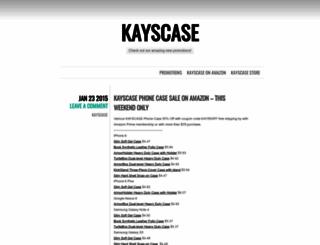 kayscase.wordpress.com screenshot