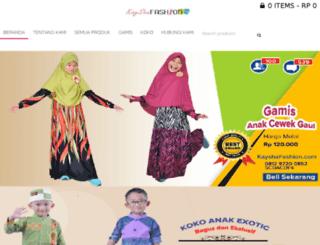 kayshafashion.com screenshot