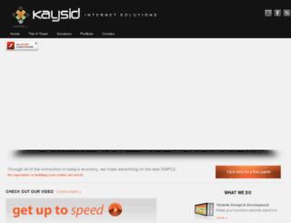 kaysid.com screenshot