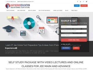 kaysonseducation.co.in screenshot