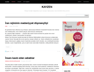 kayzen.az screenshot
