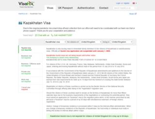 kazakhstan.visahq.co.uk screenshot