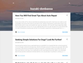 kazaki-donbassa.blogspot.com screenshot