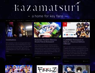 kazamatsuri.org screenshot