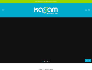 kazambikes.com screenshot