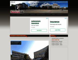 kazanlak-bg.eu screenshot