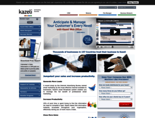 kazeli.com screenshot