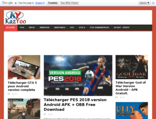 kazyoo.ikazweb.com screenshot