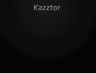 kazztor.com screenshot