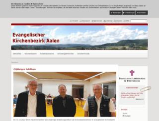 kb-aalen-evangelisch.de screenshot