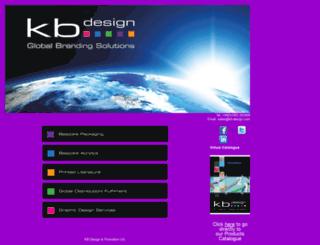 kb-design.com screenshot