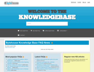 kb.bytehouse.co.uk screenshot