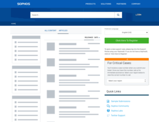kb.cyberoam.com screenshot