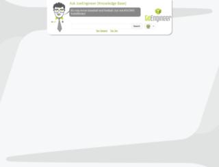 kb.goengineer.com screenshot