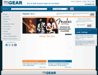 kb.mygear.com screenshot