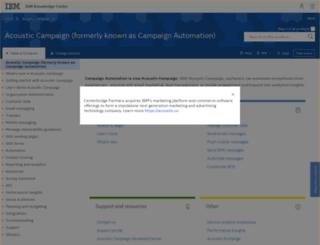 kb.silverpop.com screenshot