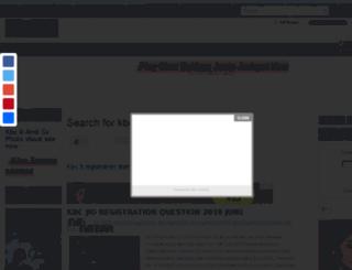 kbclive.blogspot.com screenshot