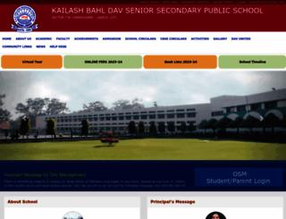 kbdav.org screenshot