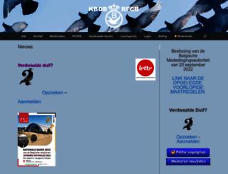 kbdb.be screenshot