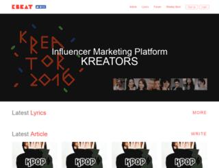 kbeat.net screenshot