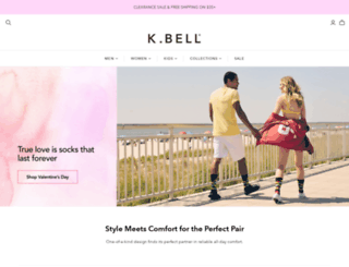 kbellsocks.com screenshot