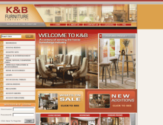 kbfurniture.com screenshot