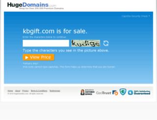 kbgift.com screenshot