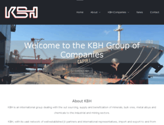 kbh.co.za screenshot