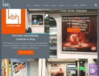 kbhontrainmedia.com screenshot